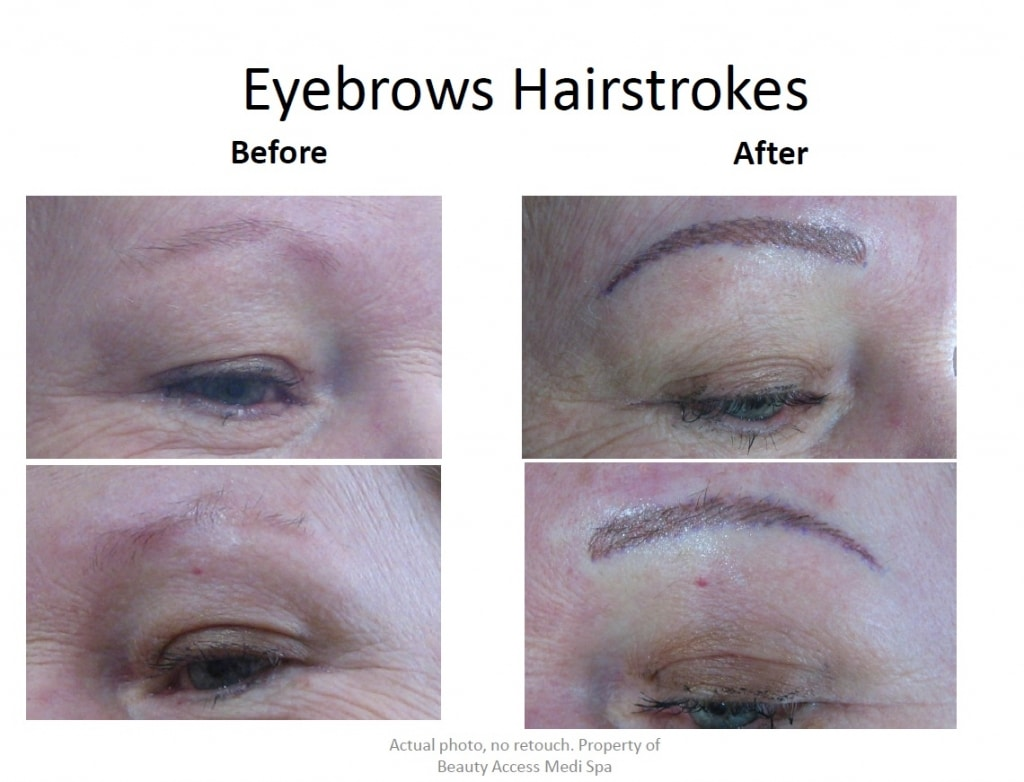 Eyebrows Hairstrokes